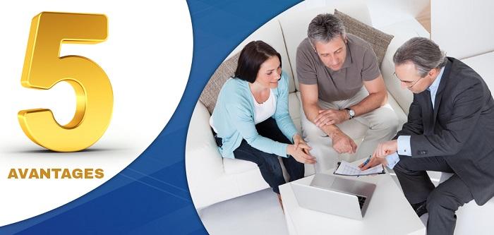 5 avantages conseiller financier pour placements