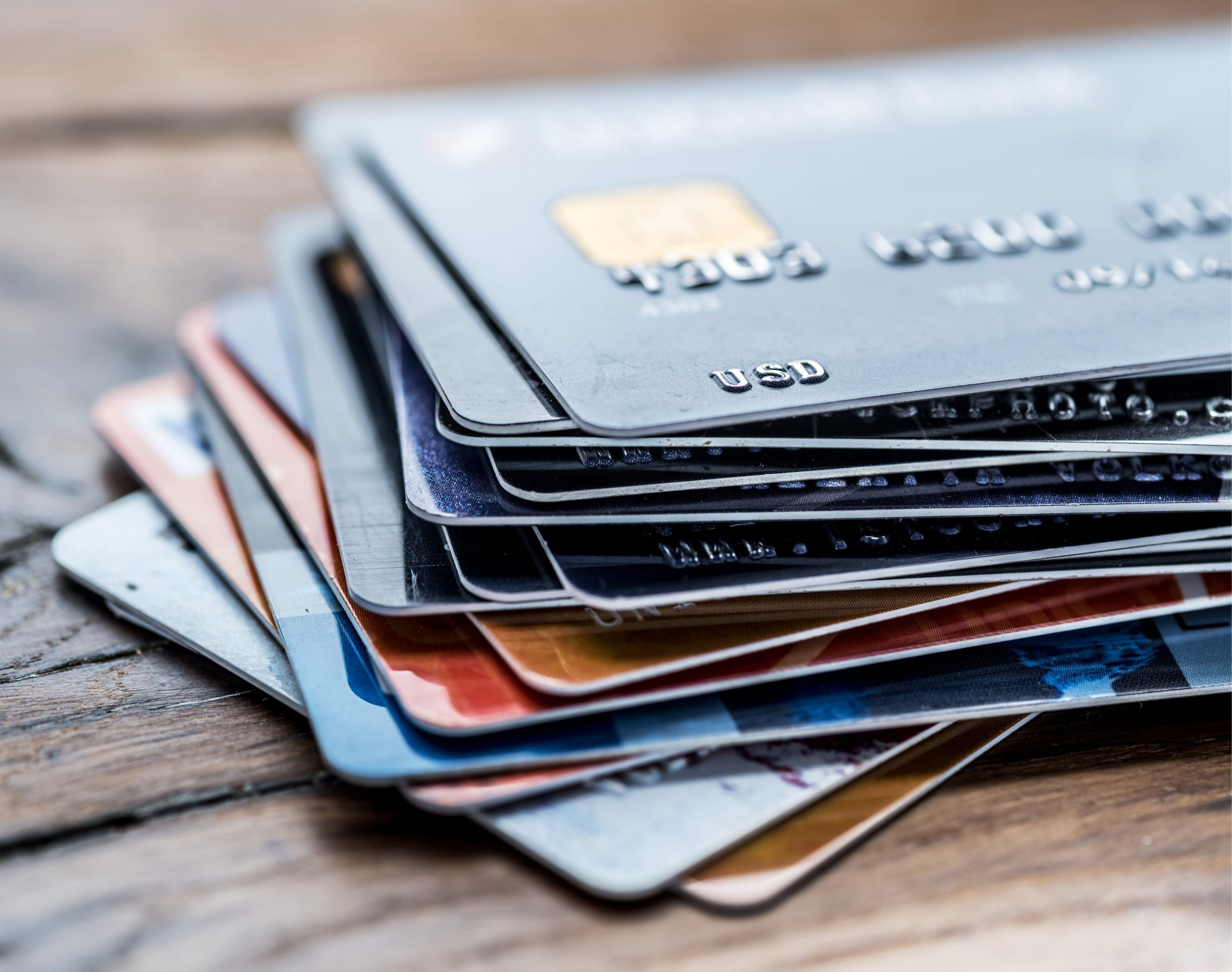 plusieurs cartes credit
